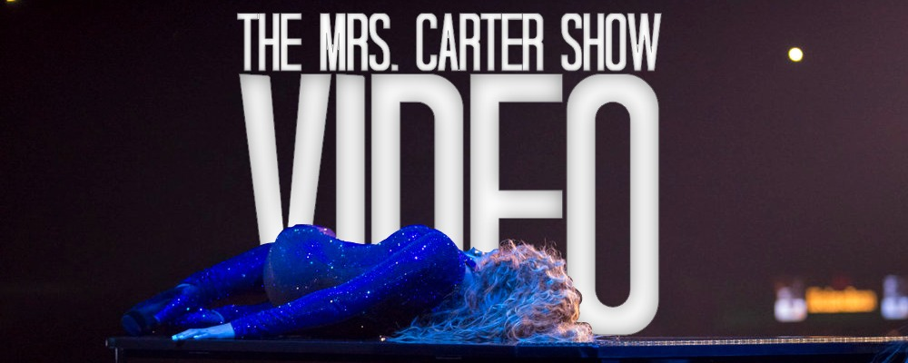 The Mrs. Carter Show, Videos